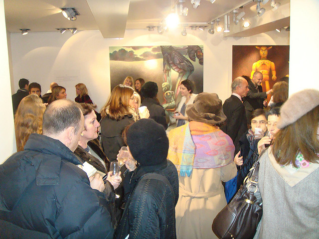 Bugs' Season Exhibition – Opening. Paris, France