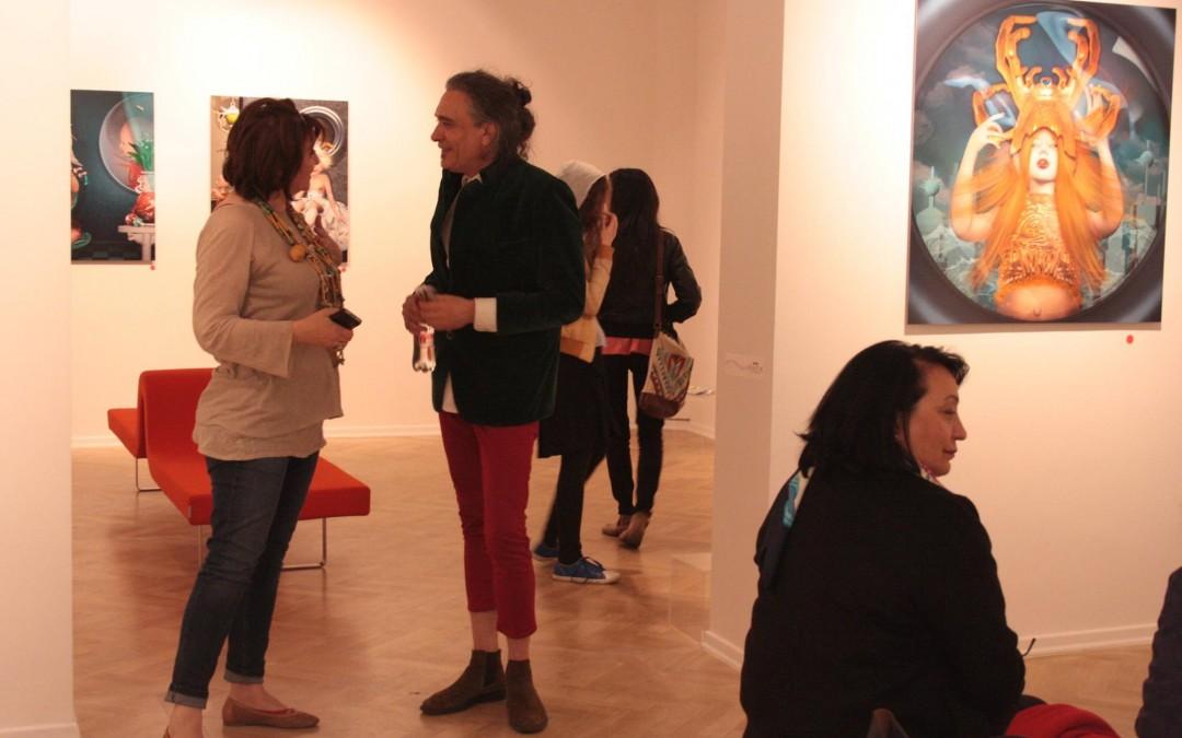 The White Night of Galleries. AnnArt Gallery. Bucharest, Romania