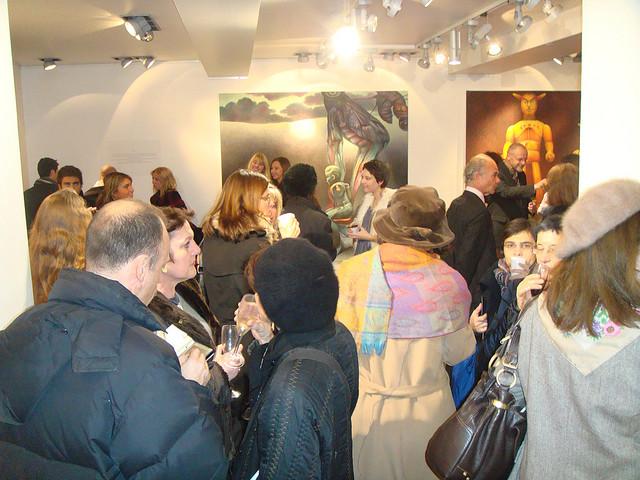 Bugs' Season Exhibition – Opening. Paris, France