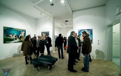 Cruel Fairy Tale / Taking-off – Exhibition Opening. Bucharest, Romania