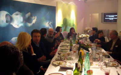 Collectors Dinner / Laura Covaci & Catherine Ikam – Multiverse Exhibition