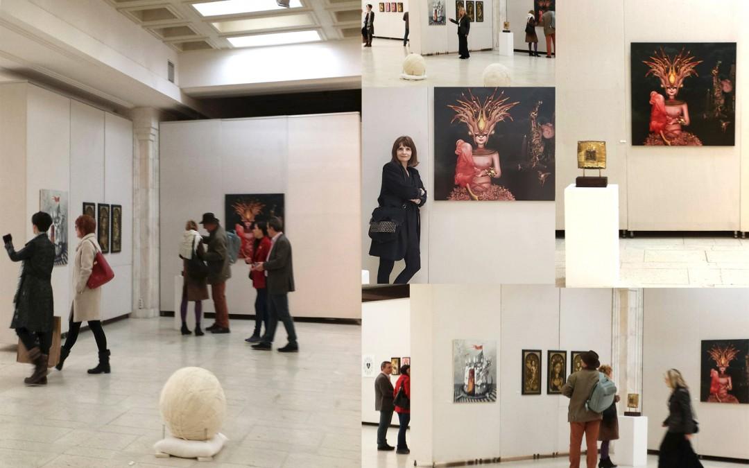 Contaminazzioni – European Cuteness Art Exhibition / Palace of Parliament